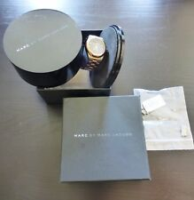 Marc Jacobs Rose Gold Wrist Watch MBM3114 Box Extra Links