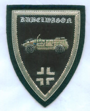 German Volkswagen Kubelwagon Staff Command Car War Battle Uniform Patch Porsche