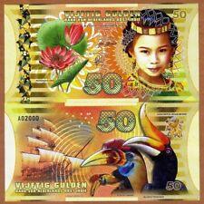 NETHERLANDS EAST INDIES 50 Gulden 2016 1 x FANTASY Polymer Banknote