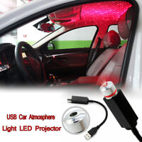 USB Car Atmosphere Lamp Interior Ambient Star Light LED Projector Starry Lamp