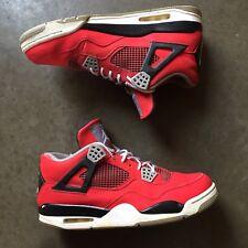 Men's Nike Air Jordan Retro IV 4 Toro Bravo Red Black White Sz 12 (308497-603)