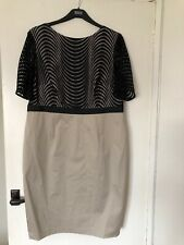 M&S AUTOGRAPH ladies dress size UK18 EU46 BNWT Black Mix