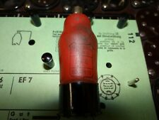 Röhre Miniwatt EF6 Tube 7mA Valve auf Funke W19 geprüft BL1776