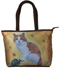 Cat Handbag, Tote Bag by Salvador Kitti - Yes, Salvador Really Does Paint!
