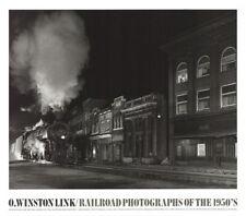 TRAIN ART PRINT O Winston Link Mainline on Main Street Northfork, WV 1988 Poster