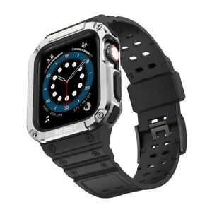 41/45mm TPU Sport Band Strap + PC Case for Apple Watch Series 7 6 5 4 SE 40/44mm