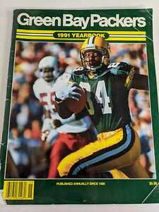 Vintage Green Bay Packers 1991 Yearbook Fair Condition