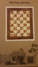 """Spring Garden  QUILTING PATTERN, From The Cottage At Cardiff Farms 61""""x 76"""""""