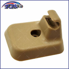 New Sun Visor Clip Retainer Camel Color Fits 2009-2014 Ford F-150