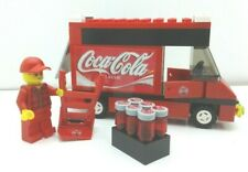 Lego Coca Cola Set. Truck. Minifigure. Beverage. & More. Custom