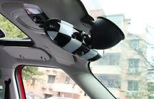 For MINI Cooper F55 F56 F57 Checkered Flag Car Interior Rear View Mirror Cover