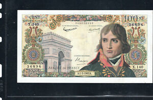 Billet 100 Nouveaux Francs Bonaparte 01/02/62 SUP Fay 59-13