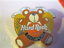 HARD ROCK CAFE Pin*SINGAPORE*TEDDY BEAR ANGEL*In Aid of Assisi Home Hospice New