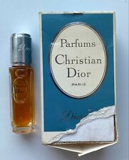 Christian dior diorella parfum 7,5 ml 0.25 fl oz VINTAGE box with defect
