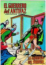 EL GUERRERO DEL ANTIFAZ (Reedición color) nº: 100.  Valenciana, 1972-1978.