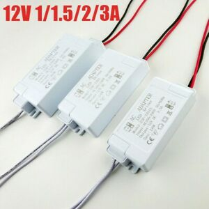 Strip Light Transformer Transformer 12V AC To DC Accessories Adapters Driver