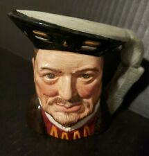 Vintage Royal Doulton Henry Viii Toby D6647 Limited Edition Made in England Mint