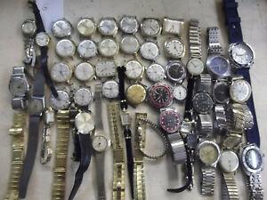 G   Verkaufe Konvolut gebrauchter Uhren für Bastler