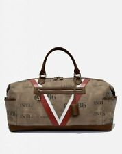 Valore London Piloti Canvas Leather Holdall bag made in italy berluti BNWT £750