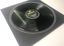 """14 X 14 Inch Black Mount To Fit 12"""" Record"""