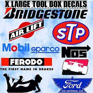 Beta Snap on Tool Box Sticker MAC Britool Decal  Large Garage Stickers Decals