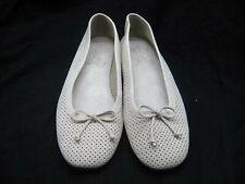 NEW Aerosoles 42 11M Nashville beige bow ballet flats womens flats loafer shoes