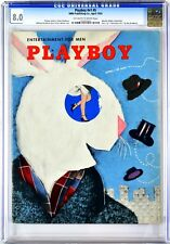 PLAYBOY | 1954-04 8.0 | April 1954 | CGC 8.0 Very Fine | Marilyn Waltz