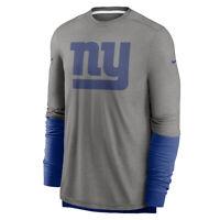 New 2020 New York Giants Nike Sideline Player Performance Long Sleeve T-Shirt