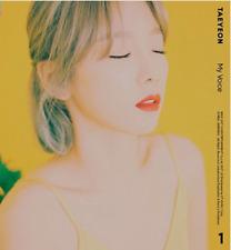 "K-POP SNSD TAEYEON 1ST ALBUM ""MY VOICE"" OFFICIAL [ 1 PHOTOBOOK + CD ] Fine Ver"