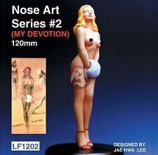 "Legend 120mm (1/16) Nose Art Series #2 ""No Honest - I'm Not Cold"" Pin-Up LF1202"