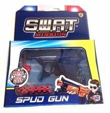 SWAT Mission Metal Die Cast Spud Gun Great Toy for Kids Xmas Gift AG 3