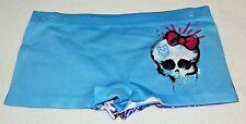 New Girls Large (12) Monster High Panties 2 pack Boyshorts Skull Blue Purple