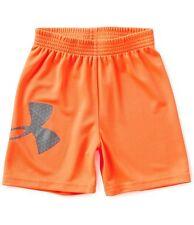 Under Armour Boys Heat gear Striker Short Shorts Blaze Orange 12 M Nwt