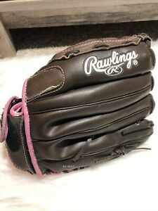 Rawlings Girls 12 Inch  Softball Glove WFP120 Left Handed Thrower Glove