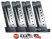 4 PACK ProMag Smith &Wesson M&P Shield 9mm Extended 8 Round Magazine SMI27 NEW