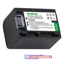 Kastar Replacement Battery for Sony NP-FH70 & DCR-DVD705 DCR-DVD708 DCR-DVD710