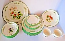 RARE EPOCH BUDDING BERRIES 26 PIECE DINNERWARE W/ SERVING DISHES DISCONTINUED