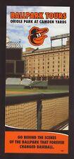 Camden Yards Tours Info Card--Baltimore Orioles