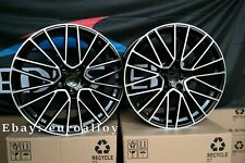 New 4x 21 inch wheels for Porsche Panamera - Cayenne black polished wheels 9.5