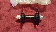 NOS OLD SCHOOL BMX 1983 SR BLACK 36 HOLE FRONT HUB NIP FOR MONGOOSE GT CW