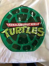 Teenage Mutant Ninja Turtles Tin Tote Lunch Box Vandor 38170 Pre Owned