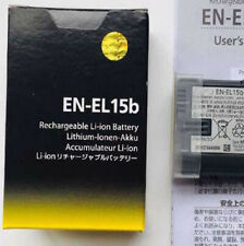 EN-EL15B Camera Battery For Nikon D7100 D7000 D800 D810 D750 Z7 Z6 V1 ENEL15b