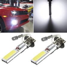 1PC 12V-24V H3 COB LED Bright Xenon Car Auto Fog Light Lamp White 6000K Bulb