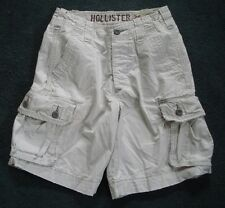 Hollister  Cargo Shorts Size 26 Button Fly Distressed