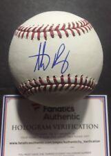 ANTHONY RIZZO SIGNED Official Mlb Holo Coa Baseball Fanatics 2016 Ws Cubs Auto