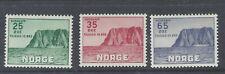NORWAY 1957 Tourist Association Fund  set of 3 MNH  SG 464/466