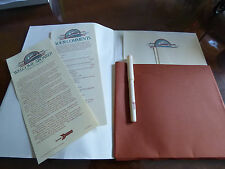 Vintage Amtrack Writing Paper and Pen Set First Class