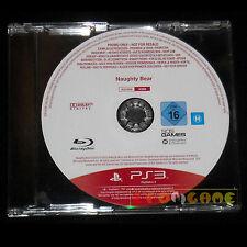 NAUGHTY BEAR PS3 Versione Promo Europea gioco completo ••••• USATO