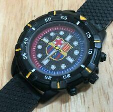 Vintage FCB Official Product Men Lady Black Analog Quartz Watch Hour~New Battery