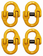 "(4 pack) 9/32"" Grade 80 Mechanical Coupling Link, 2 Ton (4000 lbs) WLL"